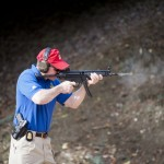 An FBI firearms instructor shows us how an MP5 works on full auto.